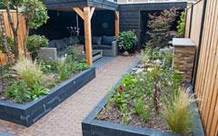 Voorbeeldtuinen Kleine Tuin : Portfolio voorbeeldtuinen kleine tuinen