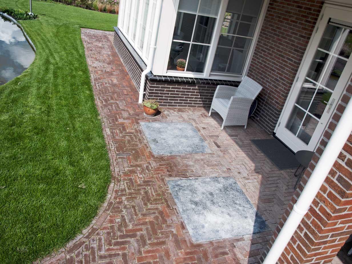 Voorkeur Portfolio | Voorbeelden tuinelementen bestrating en steen @IV47