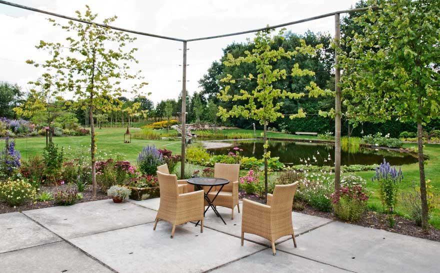 Hedendaags Portfolio | Voorbeelden tuinelementen terrassen YS-69
