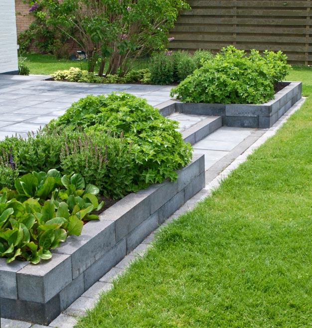Uitgelezene Portfolio | Voorbeelden tuinelementen terrassen SY-23