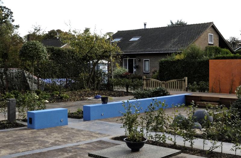 Moderne tuin te maasdam - Moderne tuinfoto ...