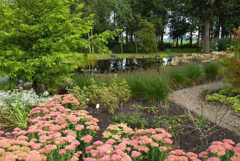 Ruime landelijke tuin for Landelijke tuin aanleggen