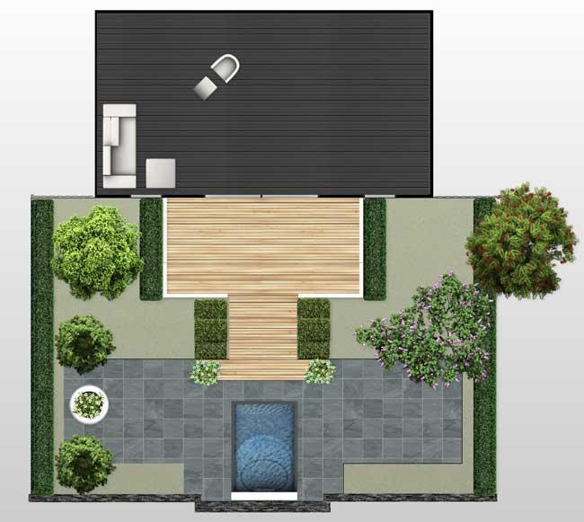 Online een tuinontwerp tekenen hoe werkt het for Eenvoudige tuinontwerpen