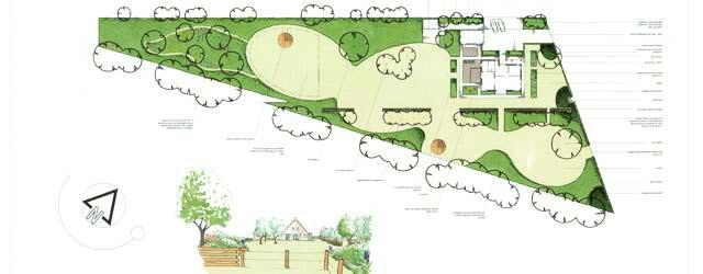 Garden fair 2014 for Plattegrond tuin maken
